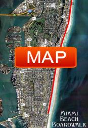 Miami Beach Boardwalk Map